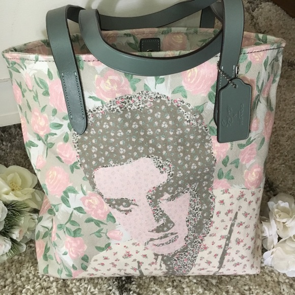 Authentic limited edition Coach Elvis Tote 索❤️ ff9abd902a141